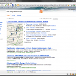 bing attleborough web design screenshot